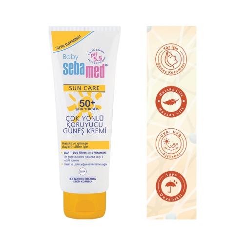 Sebamed Sun Care Baby Cream 50 + Uvb 75 Ml