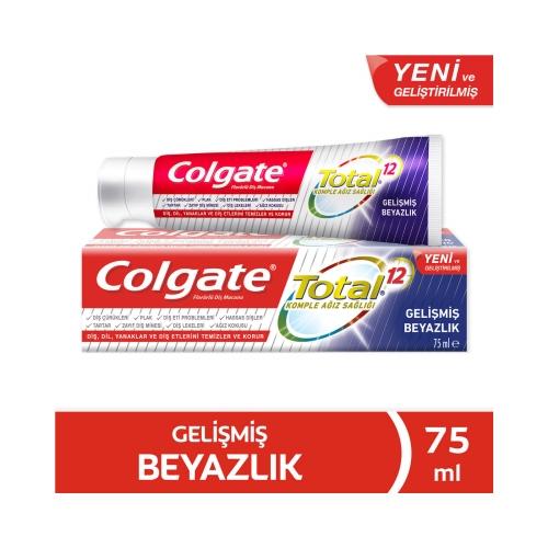 Colgate Total Gelişmiş Beyazlık Beyazlatıcı Diş Macunu 75 Ml