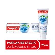 Colgate Natural Extracts Deniz Tuzu Parlak Beyazlık Diş Macunu 75 Ml