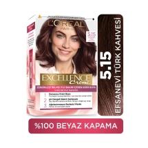 L'Oréal Paris Excellence Creme Saç Boyası 5-15 Efsanevi Türk Kahvesi