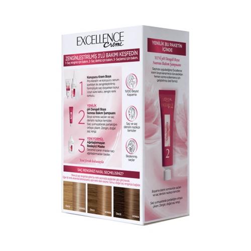 L'Oréal Paris Excellence Creme Saç Boyası 7-31 Bal Köpüğü
