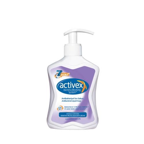 Activex Hassas 300 Ml Antibakteriyel Bakım Sıvı Sabun