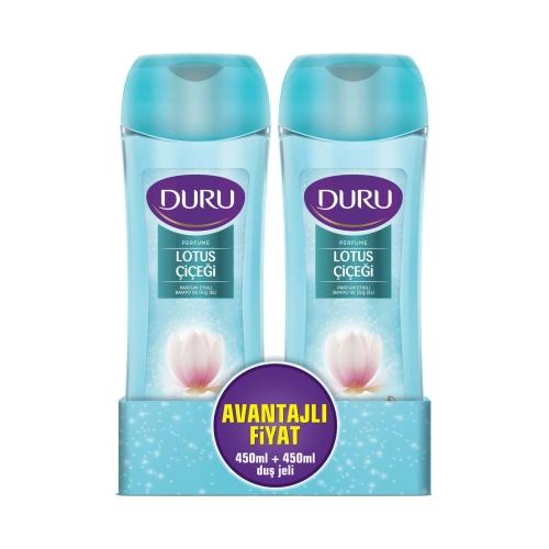 Duru Duş Jeli Perfume Elegant 450 Ml+450 Ml Kofre