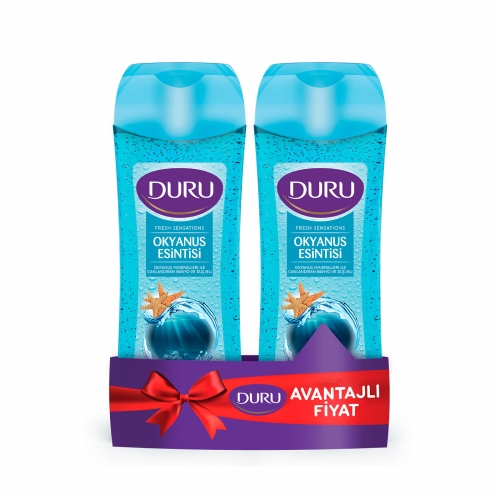 Duru Duş Jeli Fresh Sensation Okyanus 450+450 Ml Kofre