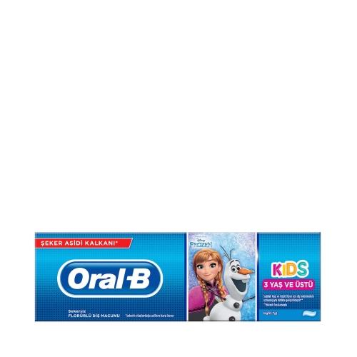 Oral-B Pro-Expert Stages Çocuk Diş Macunu Frozen&Cars 75 ML 2-6 Yaş