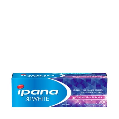 İpana 3 Boyutlu Beyazlık Diş Macunu Canlandıran Ferahlık 75 ML