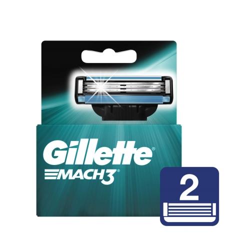 Gillette Mach3 Yedek Tıraş Bıçağı 2'li