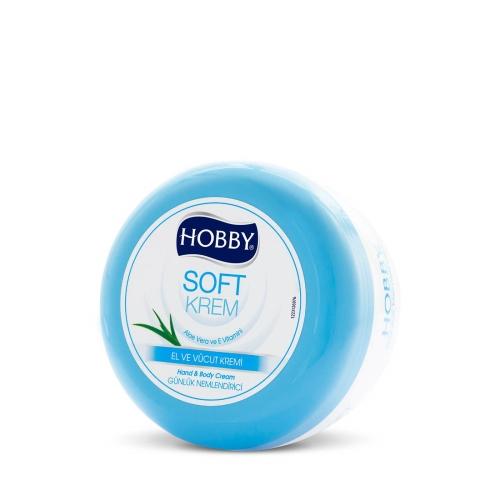 Hobby Soft Krem El-Yüz-Vücut Kavanoz 300 Ml