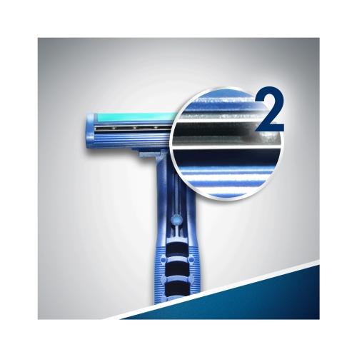 Gillette Blue2 Plus Kullan At Tıraş Bıçağı 10'lu Poşet
