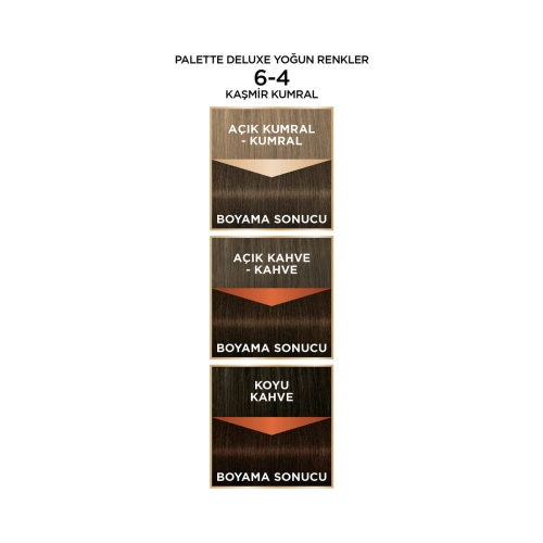 Palette Deluxe Yoğun Renkler 6-4 Kaşmir Kumral
