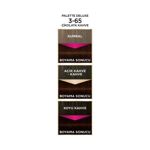 Palette Deluxe 3-65 Çikolata Kahve