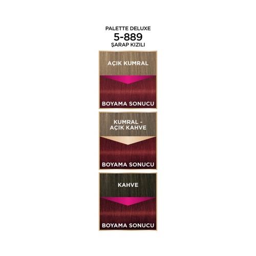 Palette Deluxe 5-889 Şarap Kızılı