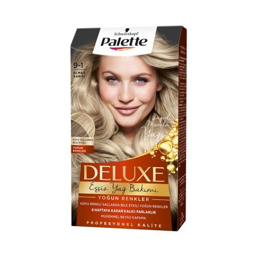 Palette Deluxe Yoğun Renkler 9-1 Küllü Sarı