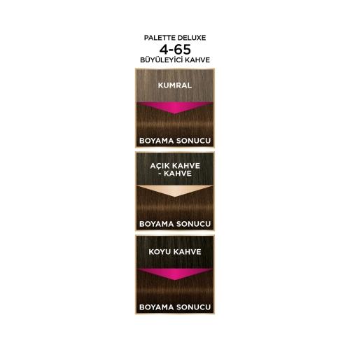 Palette Deluxe 4-65 Büyüleyici Kahve