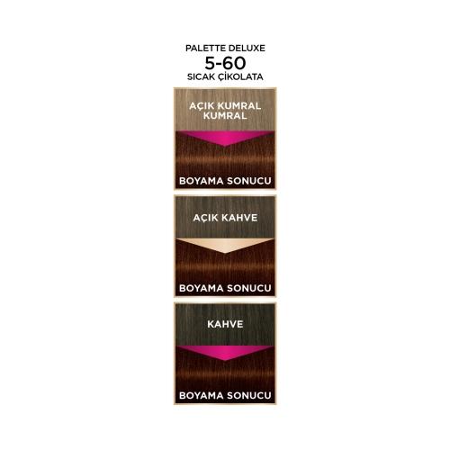 Palette Deluxe 5-60 Sıcak Çikolata