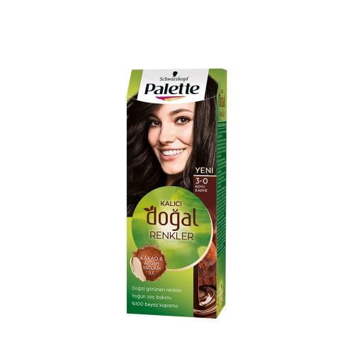 Palette Kalıcı Doğal Renkler 3-0 Koyu Kakao