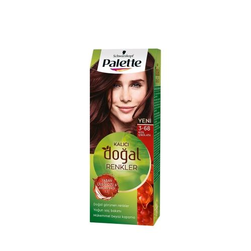 Palette Kalıcı Doğal Renkler 3-68 Kızıl Çikolata