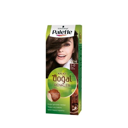 Palette Kalıcı Doğal Renkler 5-0 Açık Kahve