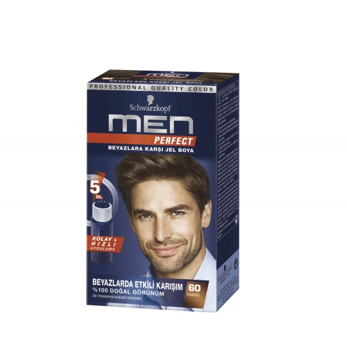 Schwarzkopf Men Perfect Saç Boyası 60 - Kahve