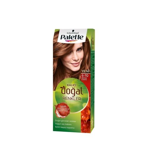 Palette Kalıcı Doğal Renkler 6-70 Bronz Kahve