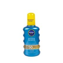 Nivea Sun Spray F50 Koruma & Ferahlık Suya Dayanıklı Transparan Güneş Spreyi 200 Ml