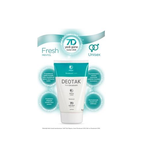 Deotak Fresh Krem Deodorant