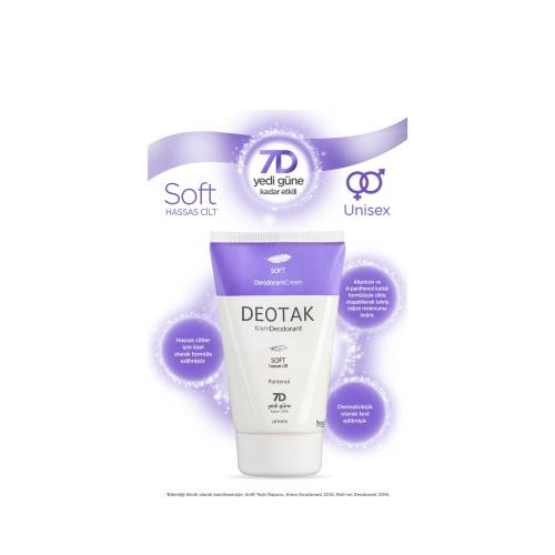 Deotak Soft Krem Deodorant