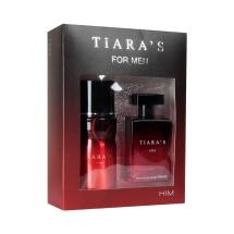 Tiara's Him Edt 100 Ml + Deodorant 150 Ml
