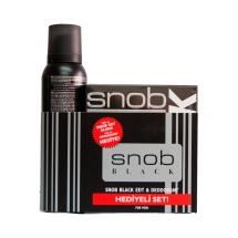 Snob Black Edt 100 Ml+Deodorant Kofre