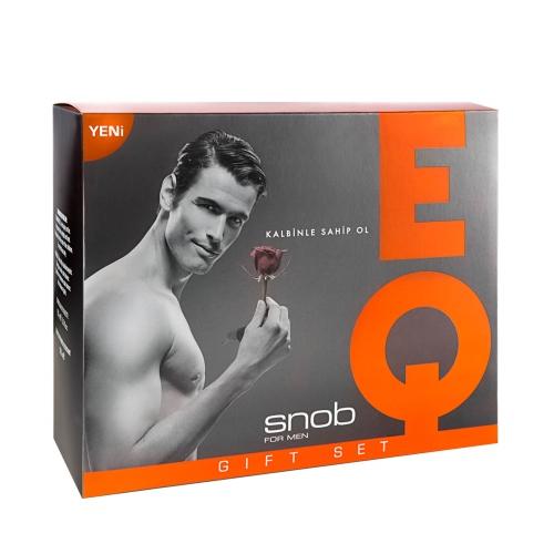 Snob Eq Edt 100 Ml+Deodorant Kofre
