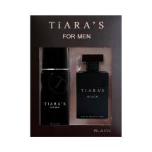 Tiara's Black Edt 100 Ml + Deodorant 150 Ml