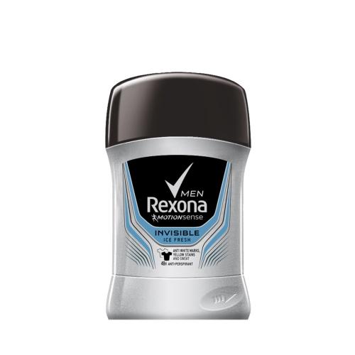 Rexona Deodorant Stick Invisible Men Ice 50 Ml
