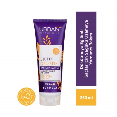 Urban Care Biotin&Keratin Şampuan 250 Ml