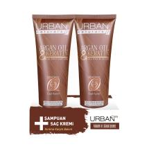 Urban Care Argan&Keratin Şampuan+Saç Kremi 250 Ml