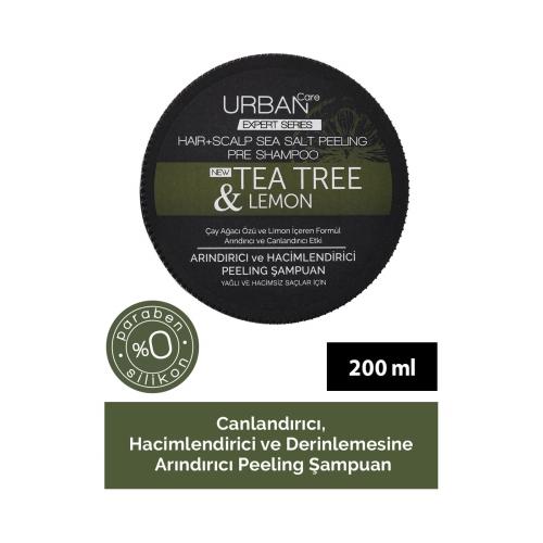 Urban Care Expert Scalp Peeling Tea Tree Lemon Şampuan 200 Gr