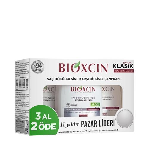 Bioxcin Genesis Kuru ve Normal Saçlar için Şampuan 3 x 300 Ml (3 Al 2 Öde)