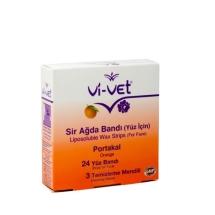 Vivet Yüz Sir Ağda Bandı Portakal Çiçeği 24 Adet