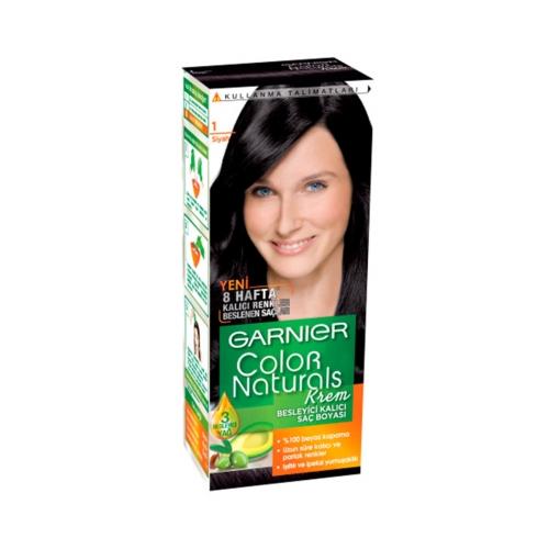 Garnier Color Naturals Saç Boyası 1 Siyah
