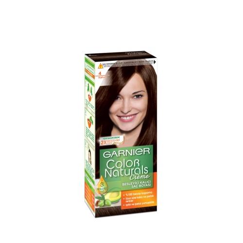 Garnier No:4 Kahve Color Natural Boya
