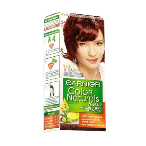 Garnier Color Naturals Saç Boyası 4-6 Kestane Kızıl