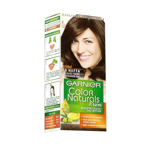 Garnier No:5 Açık Kahve Colour Natural Boya