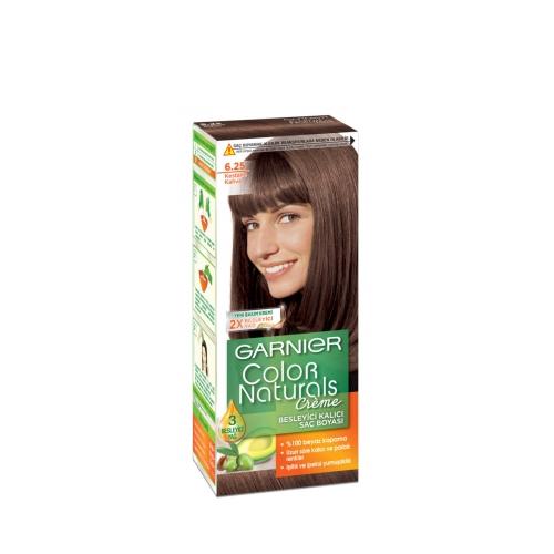Garnier Color Naturals Saç Boyası 6-25 Kestane Kahve
