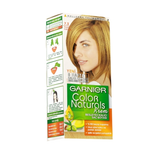 Garnier Color Naturals Saç Boyası 7-3 Fındık Kabuğu