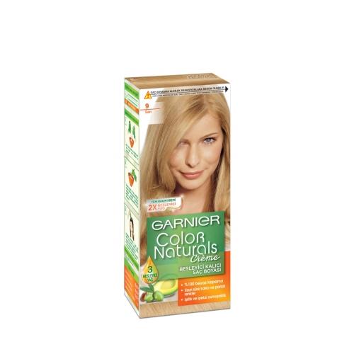 Garnier No:9 Sarı Colour Natural Boya