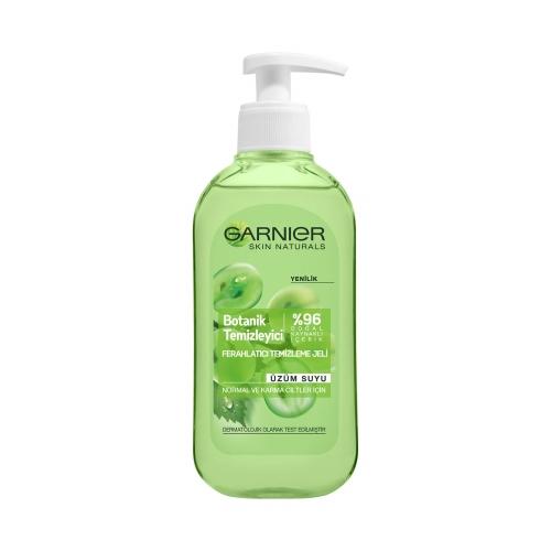 Garnier Ferahlatıcı Botanik Üzüm Temizleme Jeli Normal ve Karma 200 Ml