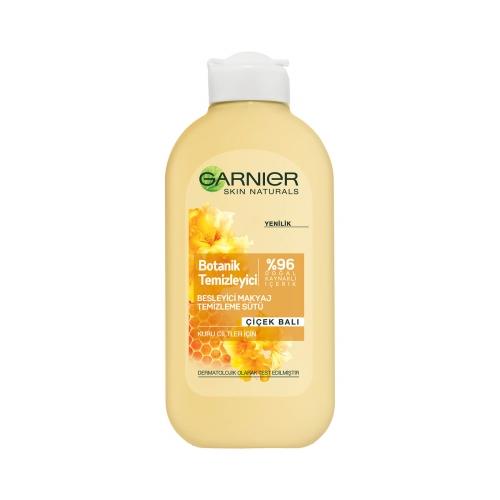 Garnier Besleyici Botanik Çiçek Balı Makyaj Temizleme Sütü Kuru Cilt 200 Ml