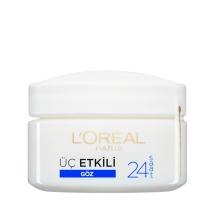 L'Oréal Paris Üç Etkili Göz Bakım Kremi 15 Ml