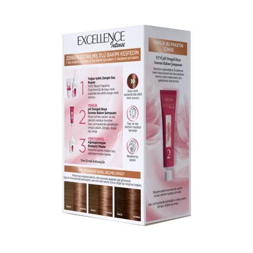 L'Oréal Paris Excellence Intense Saç Boyası 6-13 Mocha Kahve