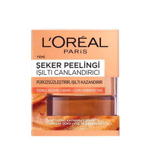 L'Oréal Paris Şeker Peelingi Işıltı Canlandırıcı 50 Ml