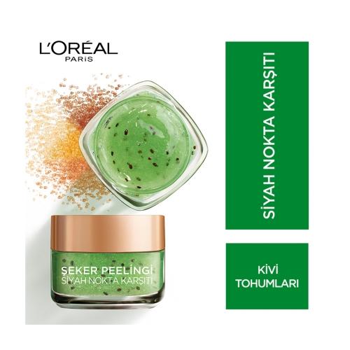 L'Oréal Paris Şeker Peelingi Siyah Nokta Karşıtı 50 Ml